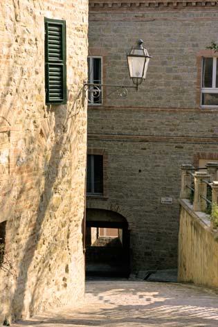 Castelplanio, centro storico.  (2116 clic)
