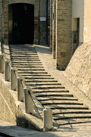 Castelplanio, centro storico.  (2115 clic)