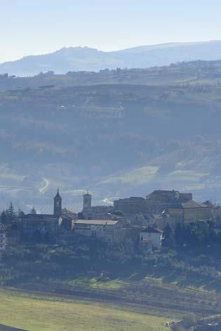 Castelplanio, veduta del borgo (2077 clic)