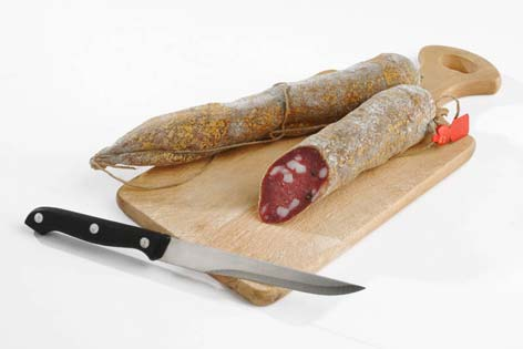 Fabriano, salame tipo fabriano (3122 clic)