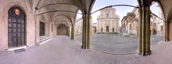 Fabriano, Piazza della Cattedrale (foto a 360°) (2458 clic)