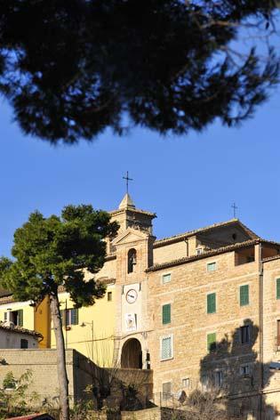 Mergo, veduta del borgo (2156 clic)