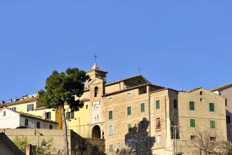Mergo, veduta del borgo (3158 clic)