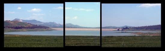 Lago Ogliastro ... in widescreen - Raddusa (5610 clic)