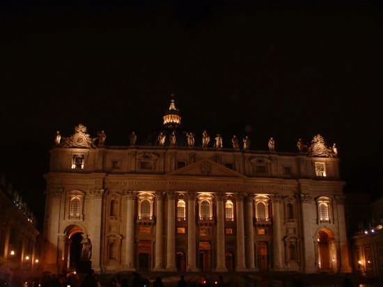 Vaticano by night... - Roma (3030 clic)