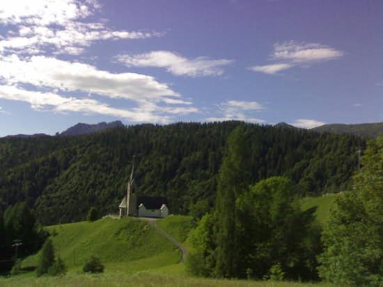 Sauris,paesaggio (4786 clic)