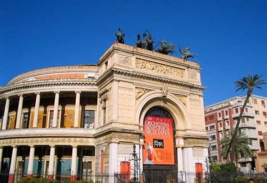 Teatro Politeama - Palermo (7558 clic)