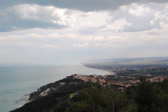 temporale sulla Riviera del Conero - Sirolo (1916 clic)