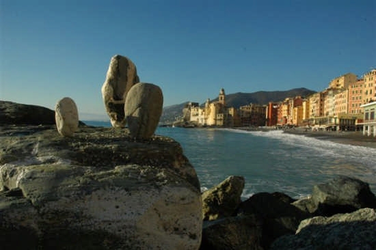 Stone Balancing - Camogli (3632 clic)