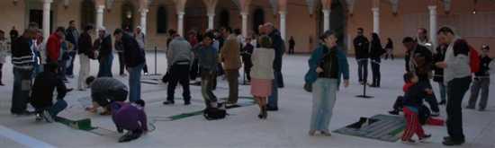 Palazzo dei Pio si gioca la prima finale di Ciclotappo - Carpi (2300 clic)