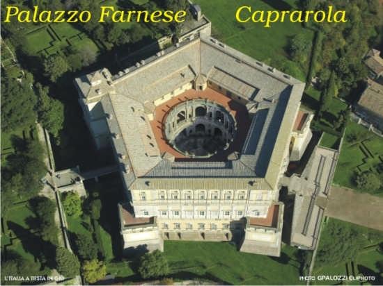 Palazzo Farnese Caprarola (6939 clic)
