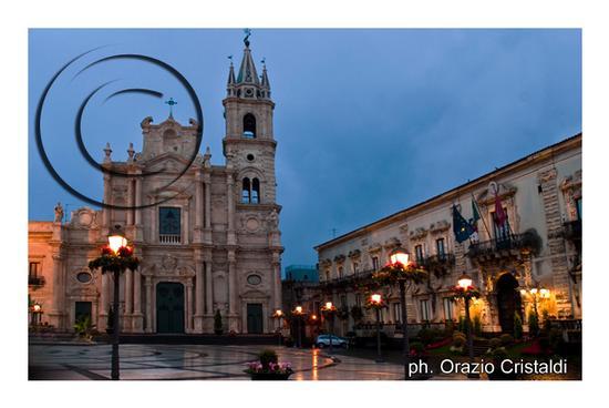 palazzo comunale cattedrale santi Pietro e Paolo - Acireale (3508 clic)
