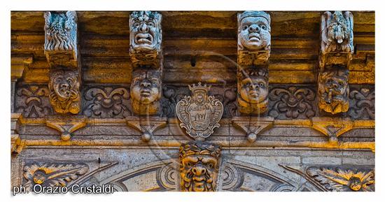 palazzo comunale - mascheroni - Acireale (2494 clic)