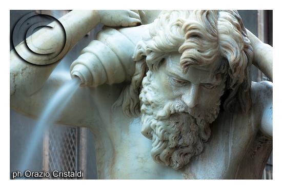 piazza duomo -fontana dell'amenano - Catania (2503 clic)