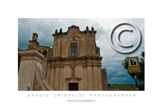 i sassi di Matera chiesa di sant'Agostino (2162 clic)