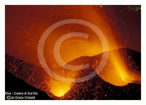 il cratere di sud est - Etna (2673 clic)