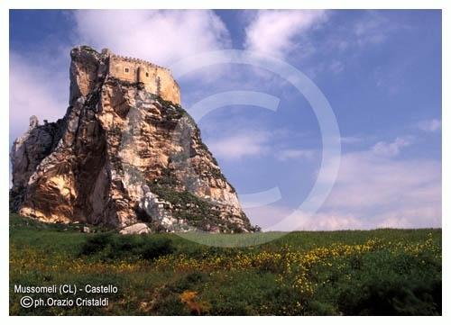 il castello - Mussomeli (3556 clic)