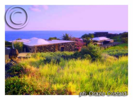 i tipici dammusi - Pantelleria (2749 clic)