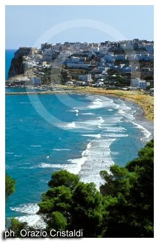 un tratto di costa - Peschici (2710 clic)