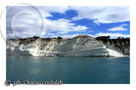scala dei turchi vista dal mare - realmonte (6291 clic)