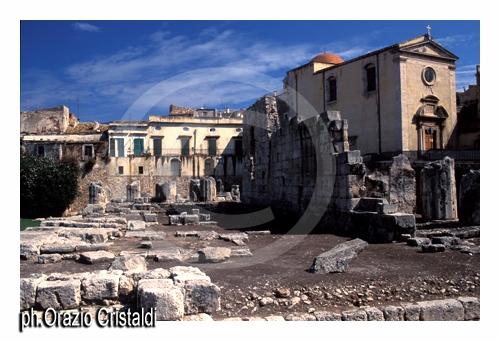 tempio di apollo - Siracusa (2687 clic)
