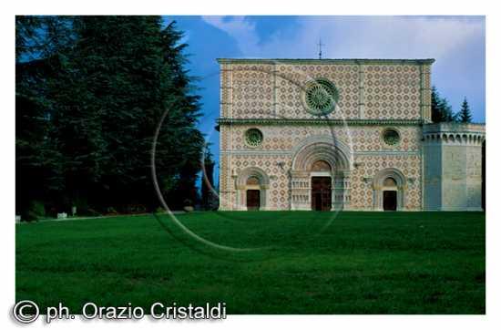 BASILICA S.M. COLLEMAGGIO - L'aquila (2266 clic)