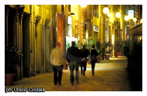 Macerata di notte (2830 clic)