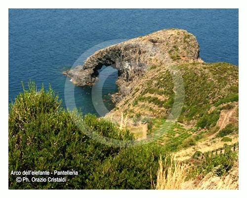 l'arco dell'elefante - Pantelleria (4027 clic)