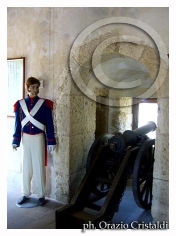 museo all'interno del castello aragonese di Pizzo - Pizzo calabro (3336 clic)