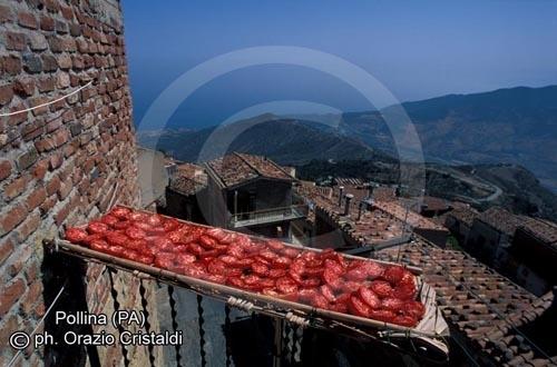 pomodori secchi - Pollina (4611 clic)