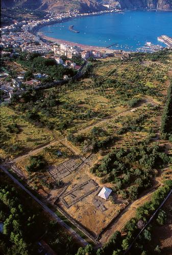 veduta aerea dell'area archeoligica - Giardini naxos (3735 clic)