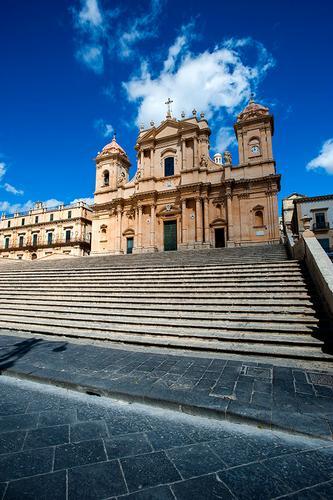 la cattedrale di san nicola - Noto (989 clic)