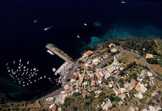 vista aerea di rinella a salina (3628 clic)