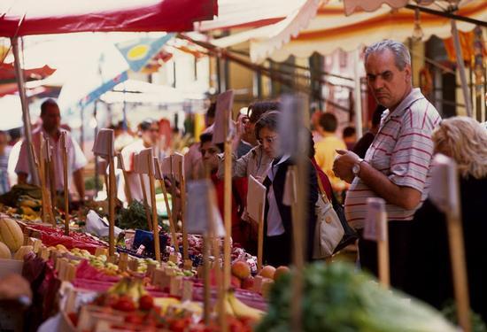 palermo, mercato al borgo (3197 clic)