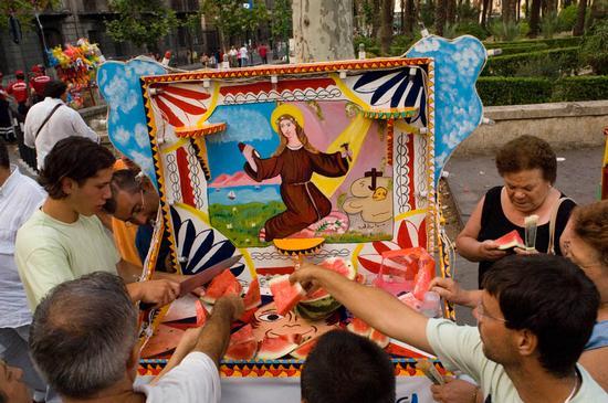 palermo, la festa di santa rosalia (3934 clic)