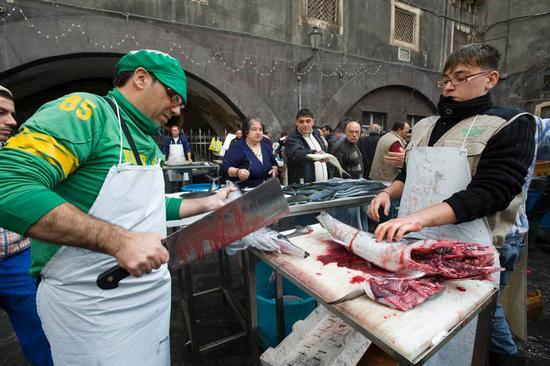 catania, il mercato del pesce (5571 clic)