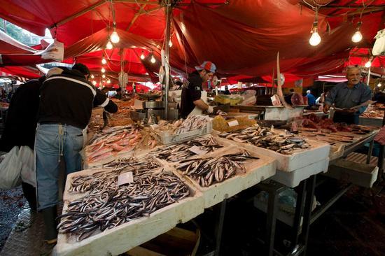 catania, il mercato del pesce (6683 clic)
