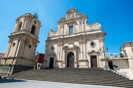 la chiesa di santa maria della stella - Militello in val di catania (1963 clic)