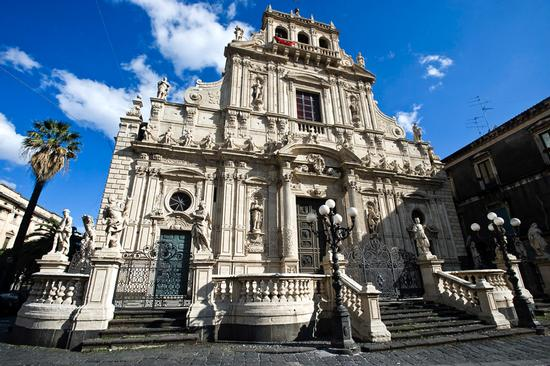 la basilica di san sebastiano - Acireale (5273 clic)