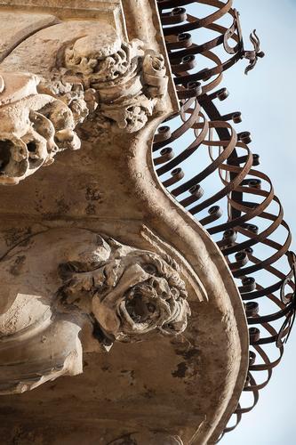 mensola di palzzzo beneventano - Scicli (1186 clic)