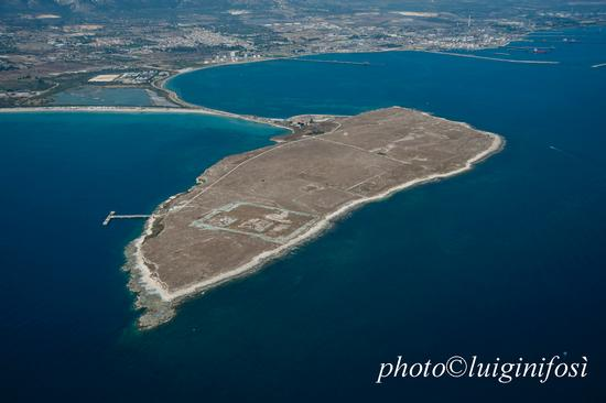 veduta aerea della penisola Magnisi o Tapsos - Thapsos (2399 clic)