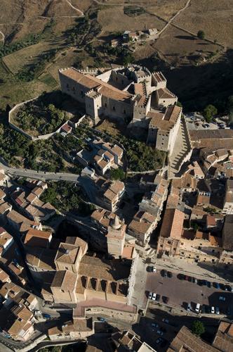 vista aerea del castello di caccamo (3428 clic)