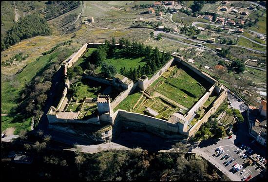 veduta aerea del castello di lombardia - Enna (5457 clic)