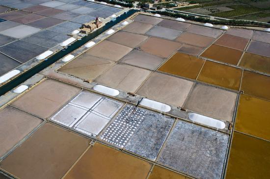 veduta aerea delle saline ettore e infersa - Marsala (5638 clic)