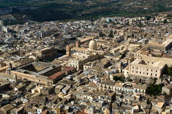 vista aerea di Noto (8354 clic)