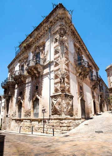 palazzo beneventano, sito unesco - Scicli (2649 clic)