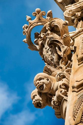 palazzo beneventano, sito unesco - Scicli (1311 clic)