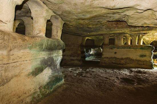 grotta delle trabacche - Ragusa (2575 clic)