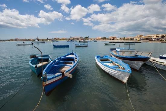 barche al porto - Marzamemi (6937 clic)