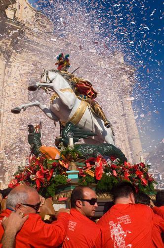 modica, festa di san giorgio (7664 clic)